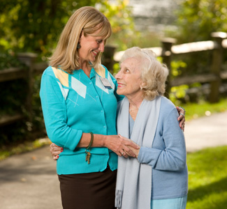 Leadership presence model gives Woodbridge senior living residents and their families peace of mind.