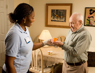 Milford medication management for senior residents of Carriage Green at Milford