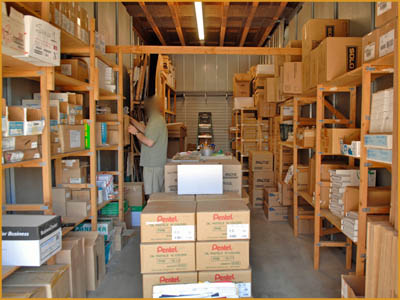 We offer the TOTAL storage solution
