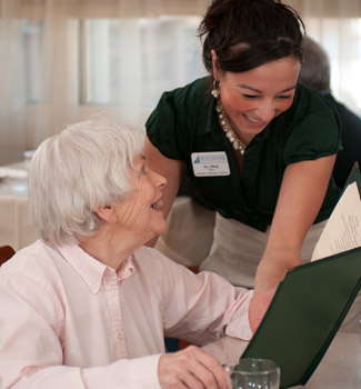 Benchmark Senior Living offers assisted living for residents.