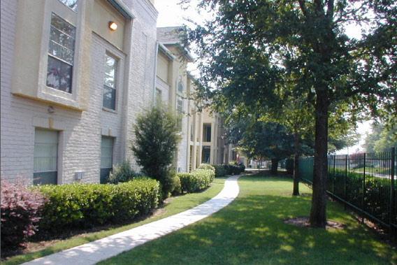 Dallas, Texas, apartments offer fully maintained grounds.