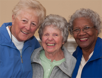 Assisted living for seniors in Newton.