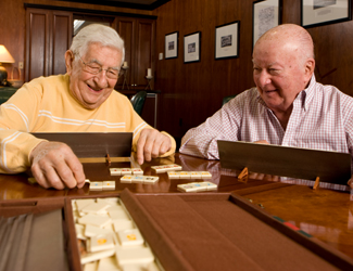 The Atrium at Drum Hill retirement community in North Chelmsford offers activities for the mind