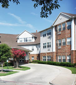 Arbrook Retirement community in Arlington, Texas