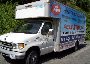 Free Move In Truck Available At Got Stuff Self Storage