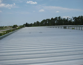 Metro Self Storage Roof Before