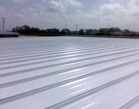 Metro Self Storage Roof After