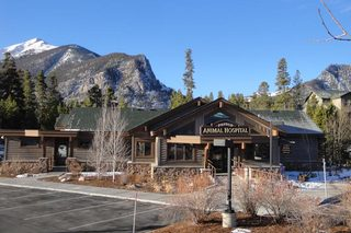 Frisco Animal Hospital mountain background