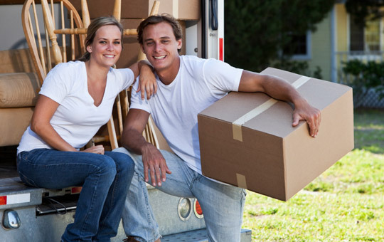 The Storage Bunker provides a rental truck to make your move easier.