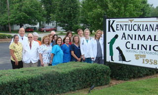 Staff at Kentuckiana Animal Clinic