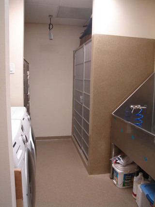 Bath and laundry at veterinarian clinic in West Hills Animal Hospital
