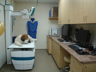 Digital x ray machine West Hills Animal Hospital