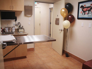 Exam room in west hills ca vet clinic