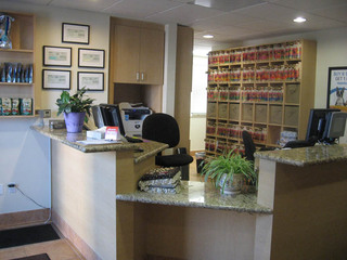 Front desk in ca West Hills Animal Hospital
