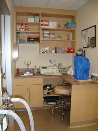 West Hills Animal Hospital In house laboratory