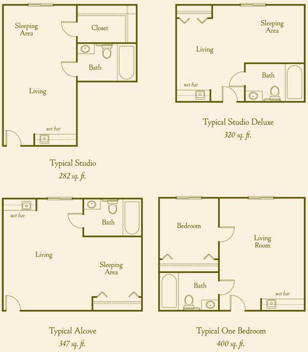Two & Three Bedroom Senior Citizen Apartments For Rent