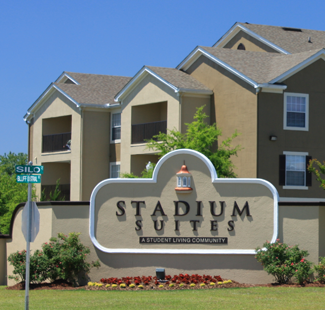Stadium suites student housing in columbia, south carolina