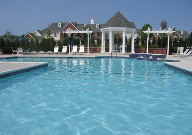Cider mill pool at apartments Singh Management