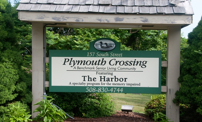 Sign Plymouth Crossings