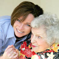 Grandmother and grandaughter utilizing respite care in Waldorf, MD