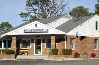 Yorktown veterinary front Animal Medical Care Center