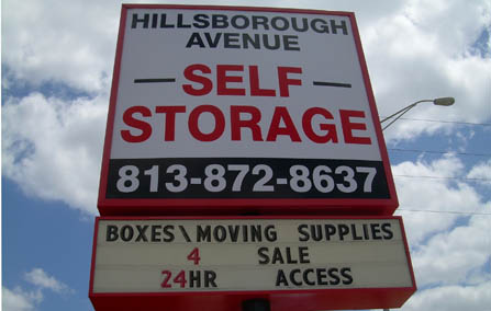 Self Storage Hillsborough Ave. Tampa FL