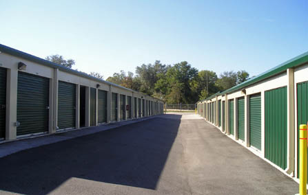 Summerfield Florida drive up storage units.