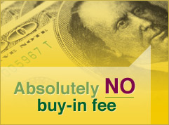 No buy-in fee