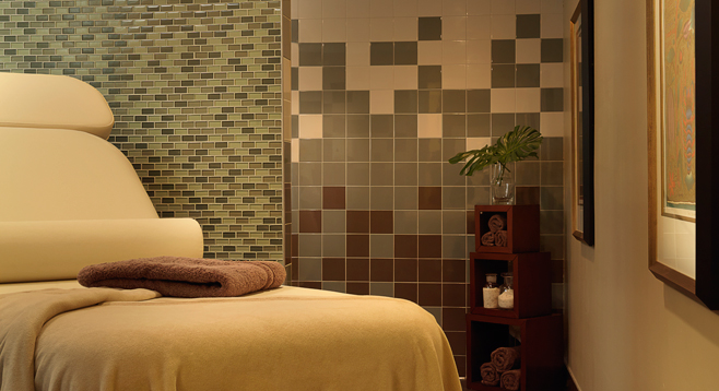 Spa treatments are just one of many amenities at Garden View Care Center OFallon