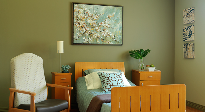 Garden View's bedrooms can be personalized to feel like home.