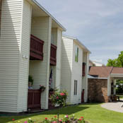 Exterior of independent living community in Vestal NY