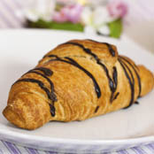 Croissants served at breakfast at The Hearth at Stones Crossing senior living community