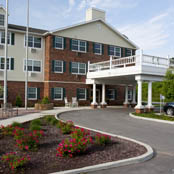 Senior living community building