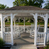 Gazebo granger in assisted living The Hearth at Juday Creek