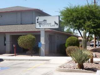 Sign Ironwood Veterinary Clinic