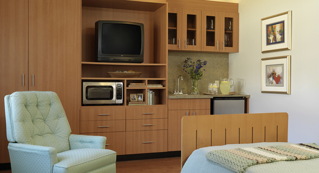 Resident room at DF at the Retirement Community in St. Louis, MO 63088