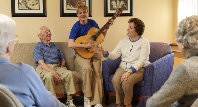 Garden View Care Center of Chesterfield chesterfield sing a long