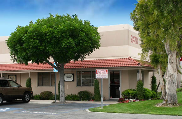 Fullerton Business Center in CA has industrial space for lease