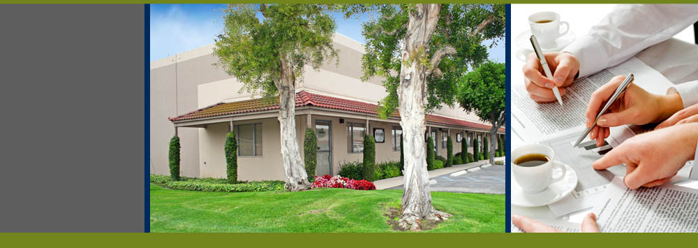 Fullerton Business Center view of commercial property
