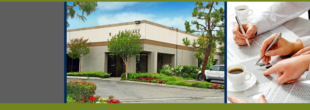 Commercial properties at San Dimas Business Center in CA