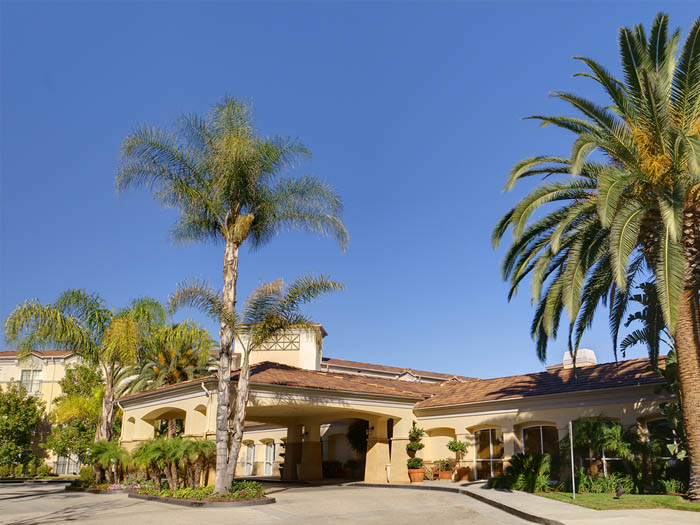 Independent living community exterior california The Village at Sherman Oaks