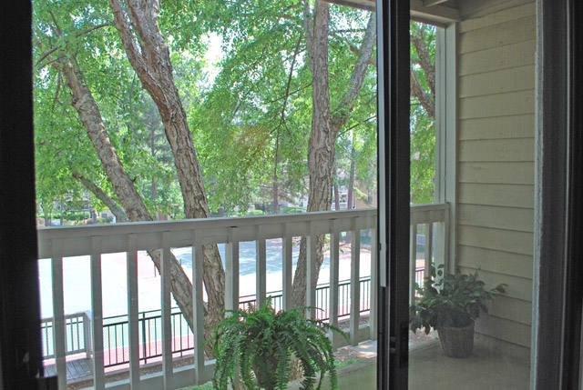 Apartments in Roswell, GA deck