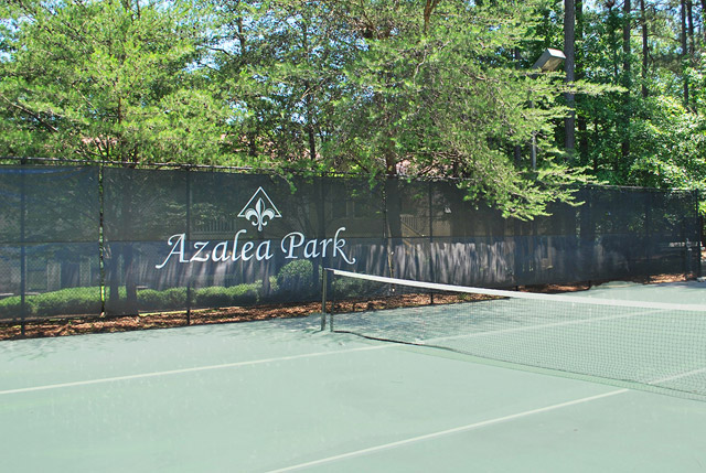 tennis court at the Apartments For Rent in Sandy Springs, GA 30350