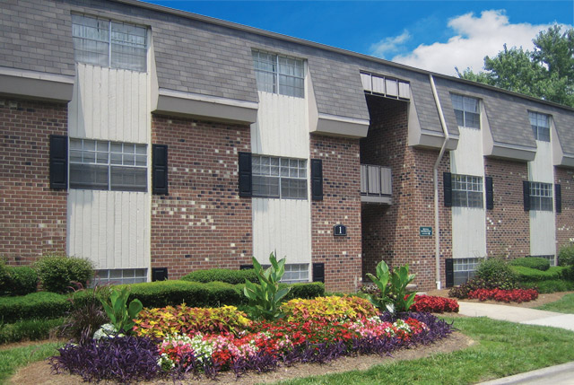 Durham Two Bedroom Apartments landscaping