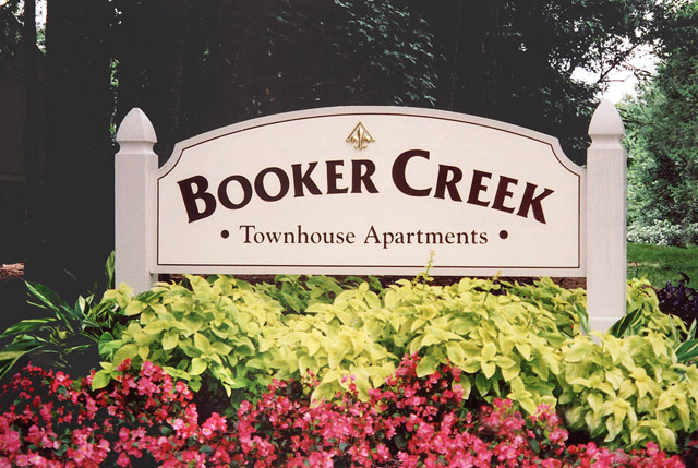 Apartments in Chapel Hill, NC sign