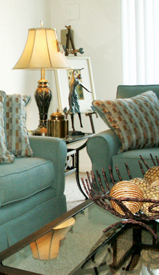 Interior of apartments in henrico county richmond at Colonial