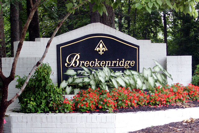 Main sign Breckenridge