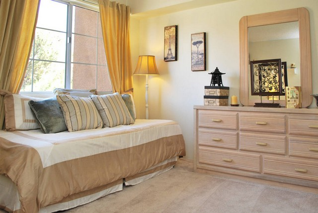 natural light filled bedroom at the Apartments For Rent in Las Vegas, NV 89103