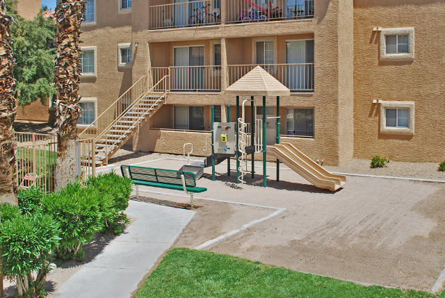 Las Vegas Two Bedroom Apartments playground