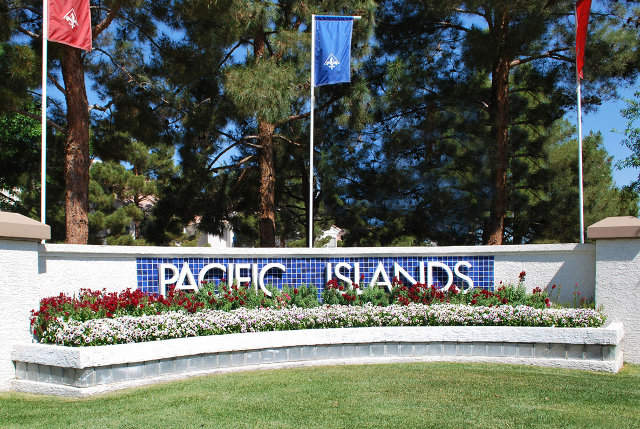 Entrysign Pacific Islands in Green Valley
